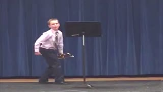 Kid Learns Why You Shouldn't Showboat - Video