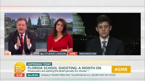 Pro-Gun Parkland Student Defends Second Amendment Against Piers Morgan