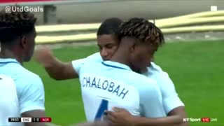 VIDEO: GOAAAL RASHFORD scores on his England U21 debut. What a player, what a finish! - Video