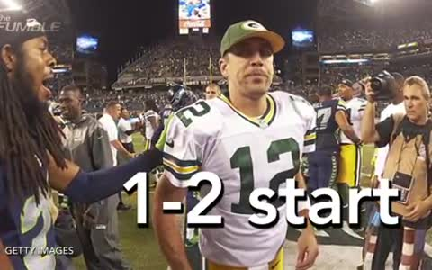 Why Aaron Rodgers Sucks Right Now