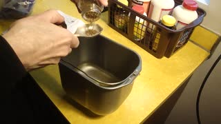 Making Rye Bread in a Bread Making Machine