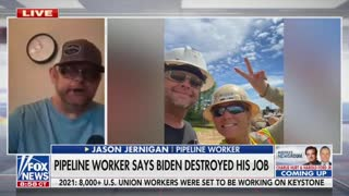 Laid-Off Pipeline Worker Has Gut-Wrenching Message For Joe Biden