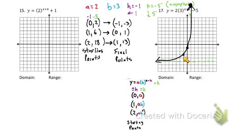 Exponential Growth functions part 2