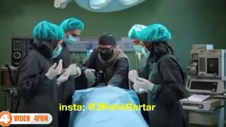 In an operating theatre with Mehran Modiri - Funny - Video