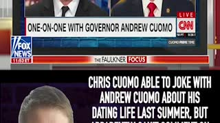 CHRIS CUOMO CLAIMS HE CAN'T REPORT ON THE ALLEGATIONS AGAINST HIS BROTHER