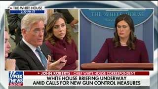 Sanders Says Trump 'Still Supports' Higher Age Requirements for Gun Purchases - Video
