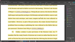 2020-11-12-Stunning- Democrat Groups Affidavits actually Prove Presidents Case in PA