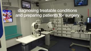 The flying eye hospital - BBC London News - Video