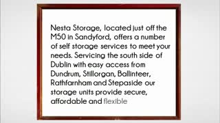 self storage dublin - Video