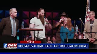 One America News | The 2021 Health and Freedom Conference in Tulsa, Oklahoma