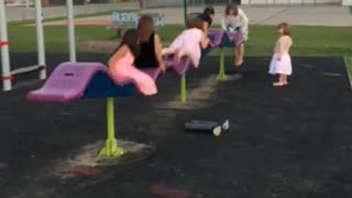 Crazy new kind of playground equipment.  - Video