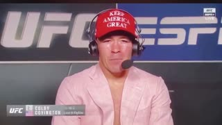 President Trump called Colby Covington after his win!!
