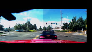 Camaro Drives Up a Telephone Pole - Video