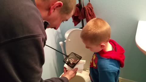 You HAVE To Hear This Boy's Parting Words to His Dead Fish