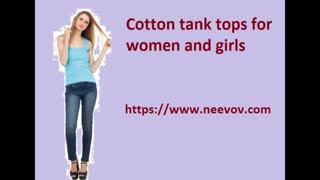 Navy Tank Tops for Women - Video