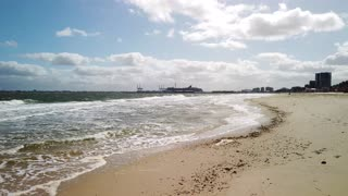 [4k] Beach walk in Melbourne, Australia - St Kilda Beach
