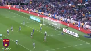 Golazo de Suarez vs Levante - Video