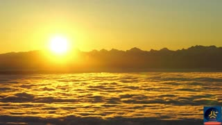The World IN Sea Of Clouds During Sunrise