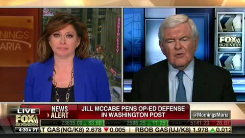 Fox Business Network Maria Bartiromo Newt Gingrich Jill McCabe