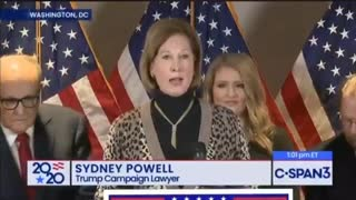 BREAKING : Sydney Powell BOMBSHELL Speech !!
