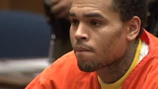 Chris Brown Admits Probation Violation, Remains In Jail - Video