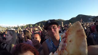 Taste of Chaos 2015 - PizzaCam - Video