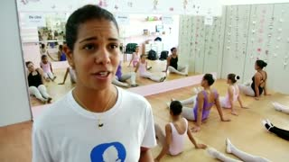 Ballet provides girls an escape from notorious Sao Paulo neighborhood - Video