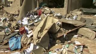 Several killed in Saudi air strikes on Yemen's Amran province - Video
