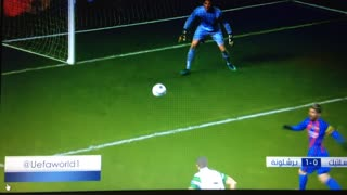 Messi golazo vs Celtic - Video