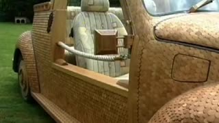 Wooden VW Beetle - Video