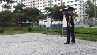 Petanq Shooting Practice - Video