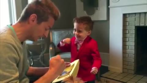 4-year-old gentleman asks out Valentine's Day