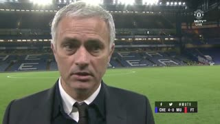 "Jose Mourinho: ""I am Manchester United 100 per cent."" - Video"