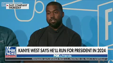 Kanye: Why Are Ya'll Laughing? I Am Running For POTUS In 2024
