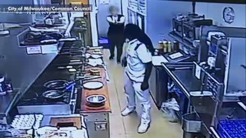 Waitress Surprises Attacker By Pulling Pistol — Watch This Priceless Reaction