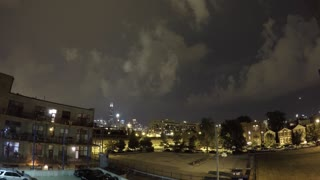 Stunning lighting storm timelapse over Willis Tower - Video