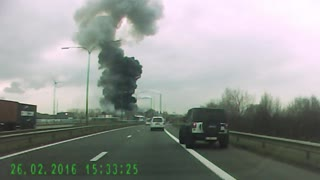 Massive Explosion in Antwerp