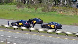 High Speed Chase, Crash and Arrest - Video