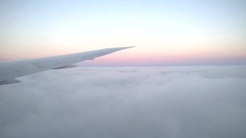 Soaring above the cloud line