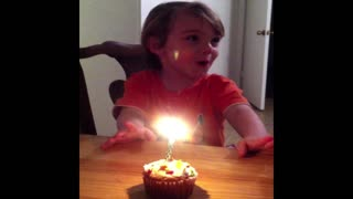 Birthday Boy Finds Birthday Wish Loophole - Video