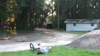 Funny Bicycle Accident - Video