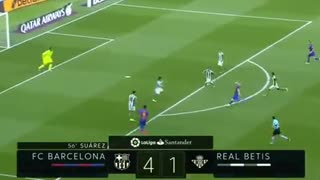 VIDEO: Messi extraordinary goal vs Betis