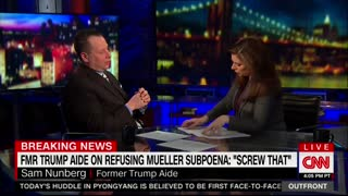 Erin Burnett Confronts Sam Nunberg - Video