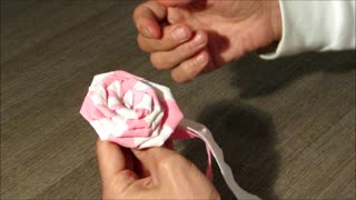 DIY - How to make roses from paper - Part 2 - Video