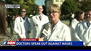 Silenced frontline doctors hold 2nd DC summit
