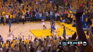 Stephen Curry Goes Off in Second Half, Warriors Comeback to Win Series - Video