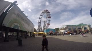 Prater wheel, Vienna  - Video