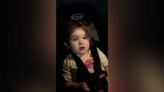 Baby Girl Has A Cute New Way To Count To 30 - Video