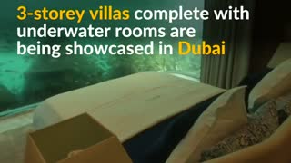 Dubai showcases floating Seahorse homes - Video