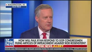 Meadows — We Don't Need Ryan To Impeach Rod Rosenstein - Video